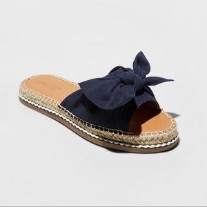 Shoes - Bow Sandal espadrilles
